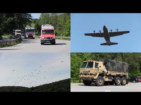 Swift Response 15: largest NATO airborne drill at JMRC Hohenfels, USAG Bavaria