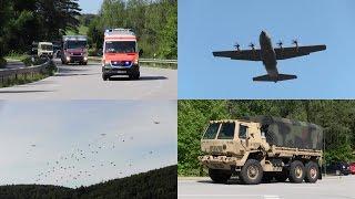 Swift Response 15: largest NATO airborn drill at JMRC Hohenfels, USAG Bavaria