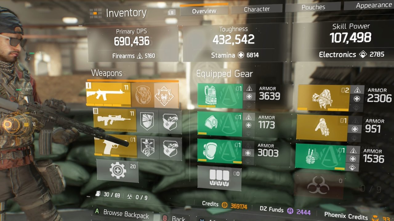 Division Best Dps Pve Build