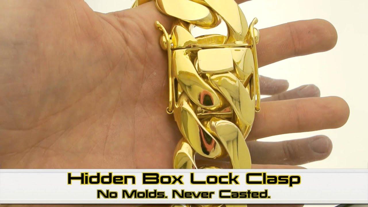 Massive 36mm 2 5 Kilo Miami Cuban Link Chain Hd Hand Made