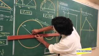 GEOMETRIA - Relaciones métricas en el triangulo rectángulo - [HD]