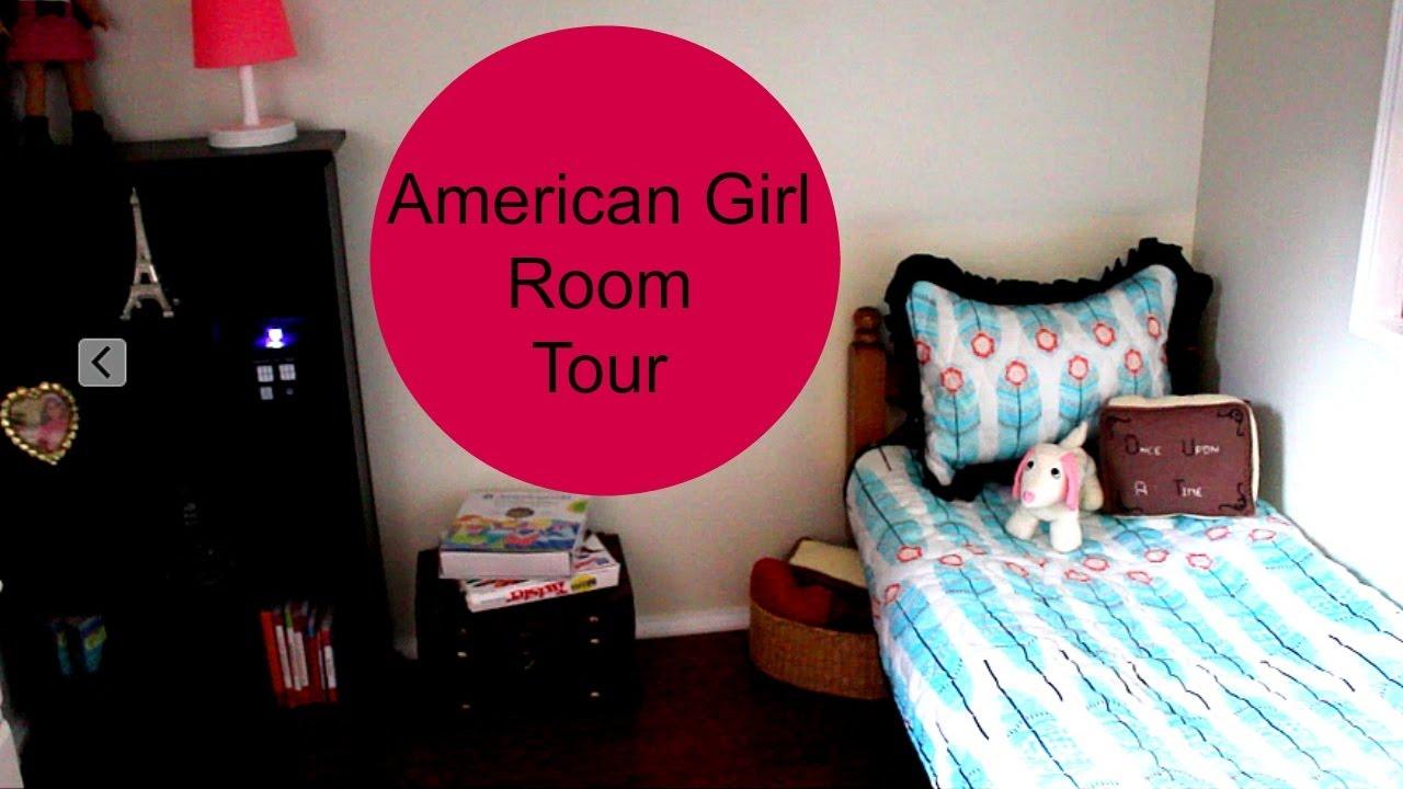 American Girl Doll Room Set Up Youtube