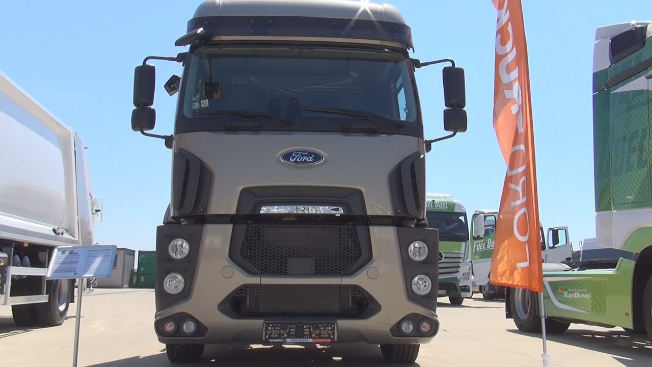 Ford Trucks 1848t Euro 6 Tractor Truck 2017 Exterior And Interior In