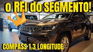 Jeep Compass 2022 1.3 TURBO! O Flex mais POTENTE da Categoria!