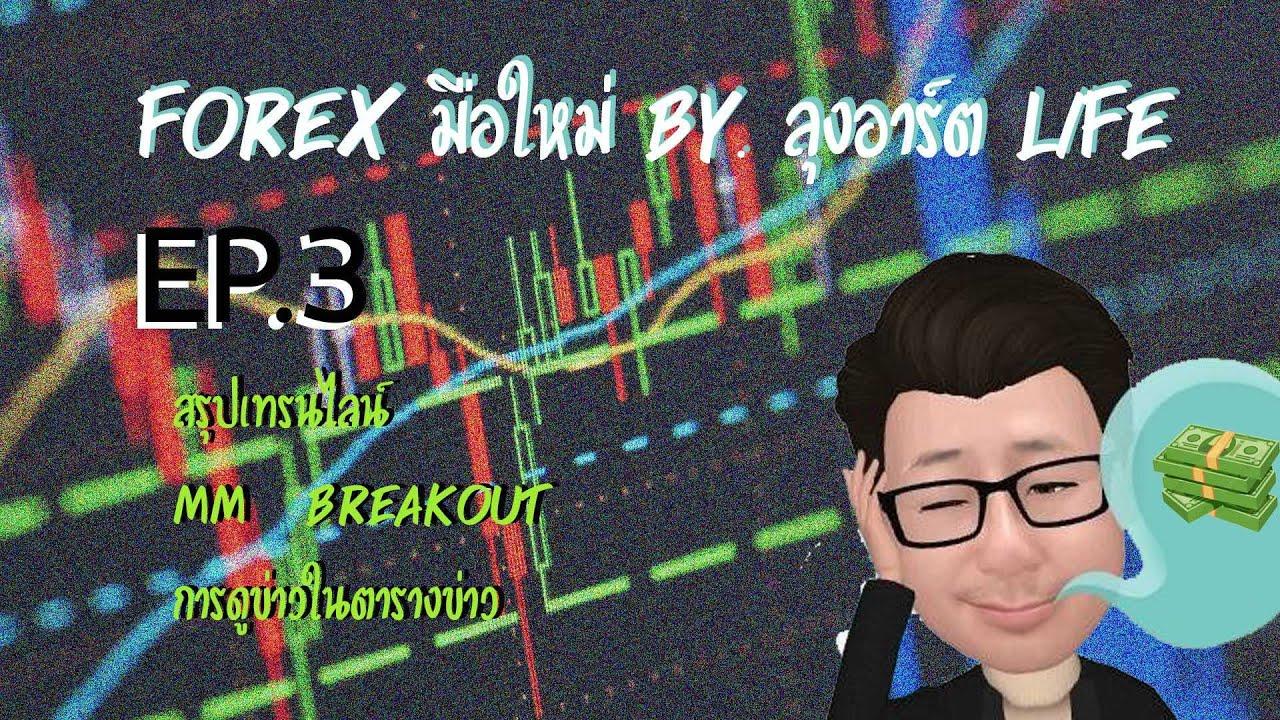 FXสำหรับมือใหม่ ep 3 เทรนไลน์ Breakout  MM การดูข่าว