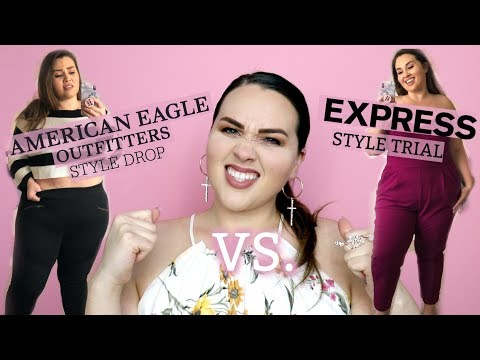 Battle Of The Style Boxes: EXPRESS Vs AMERICAN EAGLE | Sarah Rae Vargas