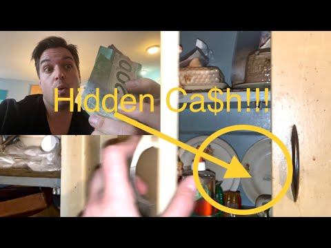 Part 2. We Found Hidden Cash!!! Hoarder house clear out, The Musicians house.