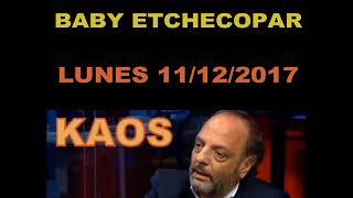 Baby Etchecopar - Mensajes de los oyentes - Lunes 11/12/2017