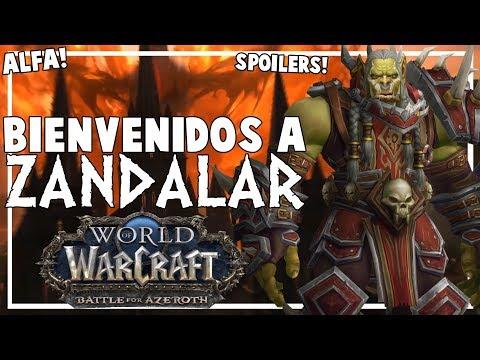 Así Comienza Zandalar   Battle for Azeroth Alfa