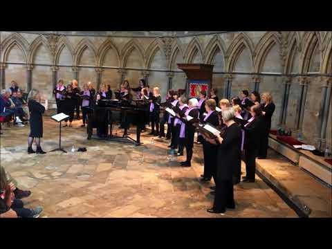 Di Voci Ladies Choir - Tundra - Recital at Lincoln Cathedral