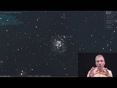 Eyes on the Sky: Messier 11, Aquila and Scutum