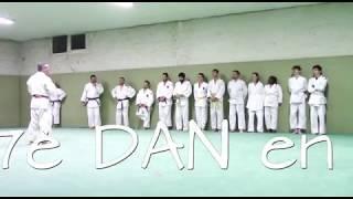 Maître Valérie Fofou promu  6è DAN de Karaté & Jiujitsu à Amiens ce 14 12 2017