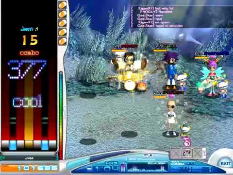 O2Jam - Milk Chocolate HX5 Random FC gameplay (AngelJam server)