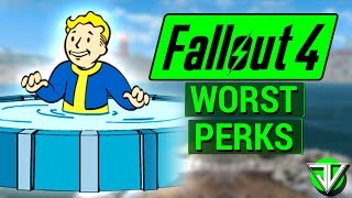 FALLOUT 4: Top 10 WORST PERKS in Fallout 4! (Most USELESS and TERRIBLE Perks In the Game)