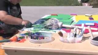 Toddler Art Table Activities - Creativity With Paint, Clay, Markers, & More!