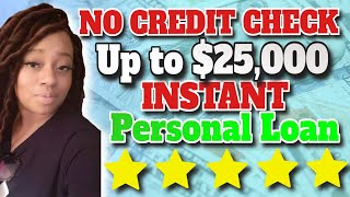 No Credit score Examine! As much as $25,000 Private Mortgage for Any Kind of Credit score thumbnail