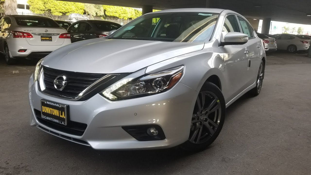 2018 Nissan Altima 3.5 SL In-Depth Feature Walkthrough in ...