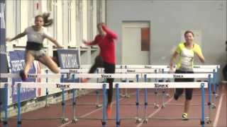 Чемпионат МГУ 2013 по легкой атлетике  Бег 55м с барьерами, женщины, финал