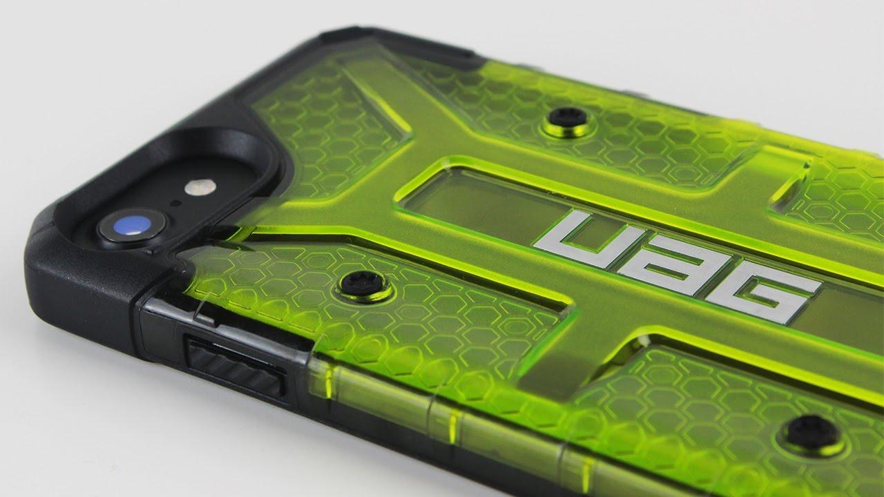 brand new c0a9a a69d0 Urban Armor Gear Plasma iPhone 7 Case - Citron [Review]