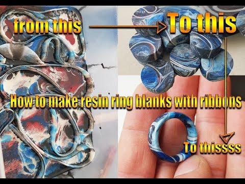 How to make awsome resin ring blanks