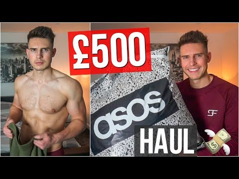 HUGE Asos Mens Clothing Haul & Try On | Autumn 2018 (£500)