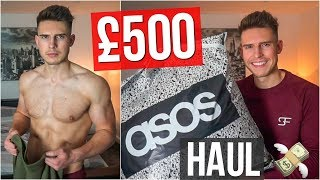HUGE Asos Men's Clothing Haul & Try On | Autumn 2018 (£500)
