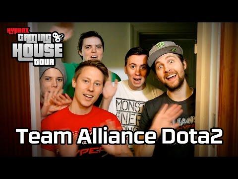The Alliance Dota 2 HyperX Gaming House Tour