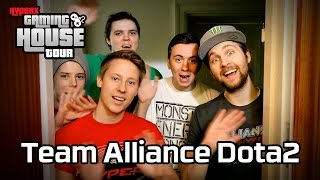The Alliance Dota 2 | Gaming House Tour By Hyperx