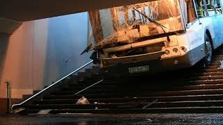 В Москве водитель автобуса насмерть сбил школьницу на велосипеде 31 07 2014