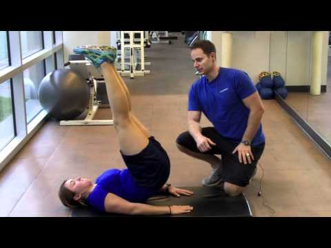 Personal Trainer Vancouver |  Lying Hip Raise