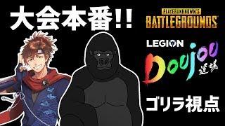 【Legion道場Cup】PUBGデュオ大会 バーチャルゴリラ視点【#LDCV_メゾゴリWIN】