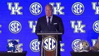 FB: Coach Stoops - SEC Media Day