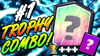 #1 STRONGEST CARD COMBO DOMINATING CLASH ROYALE!! NEW DECK!