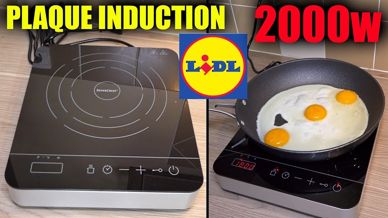Plaque Induction Lidl Silvercrest 2 Foyers Double Induction Hob Doppel Induktionskochplatte Youtube