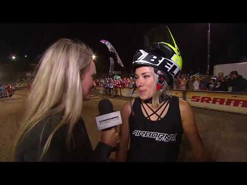 Title Win Interview Caroline Buchanan