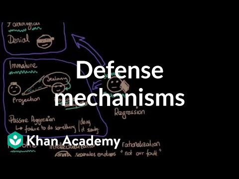 Defense mechanisms | Behavior | MCAT | Khan Academy