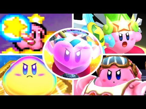 Evolution of Final Weapons in Kirby Games (1992-2018)