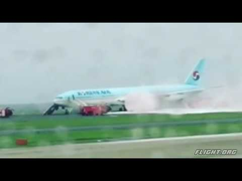Korean Air Boeing Flight 2708 - B777-300 Engine Fire and Rejected Takeoff