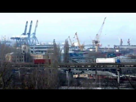 Одесса. Вид на порт / Odessa. View Of The Port