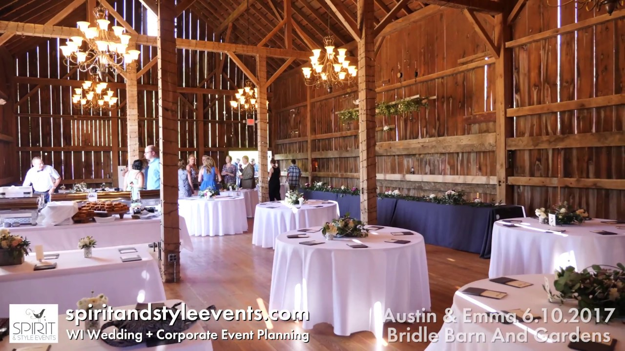 Bridle Barn And Gardens Venue Madison Wi Wedding Planner Youtube