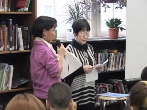 Hibakusha Stories NYC School Visit @Lower Manhattan Arts Academy High School #2