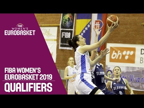 Bosnia and Herzegovina v Slovak Republic - Full Game - FIBA Women's EuroBasket 2019 Qualifiers