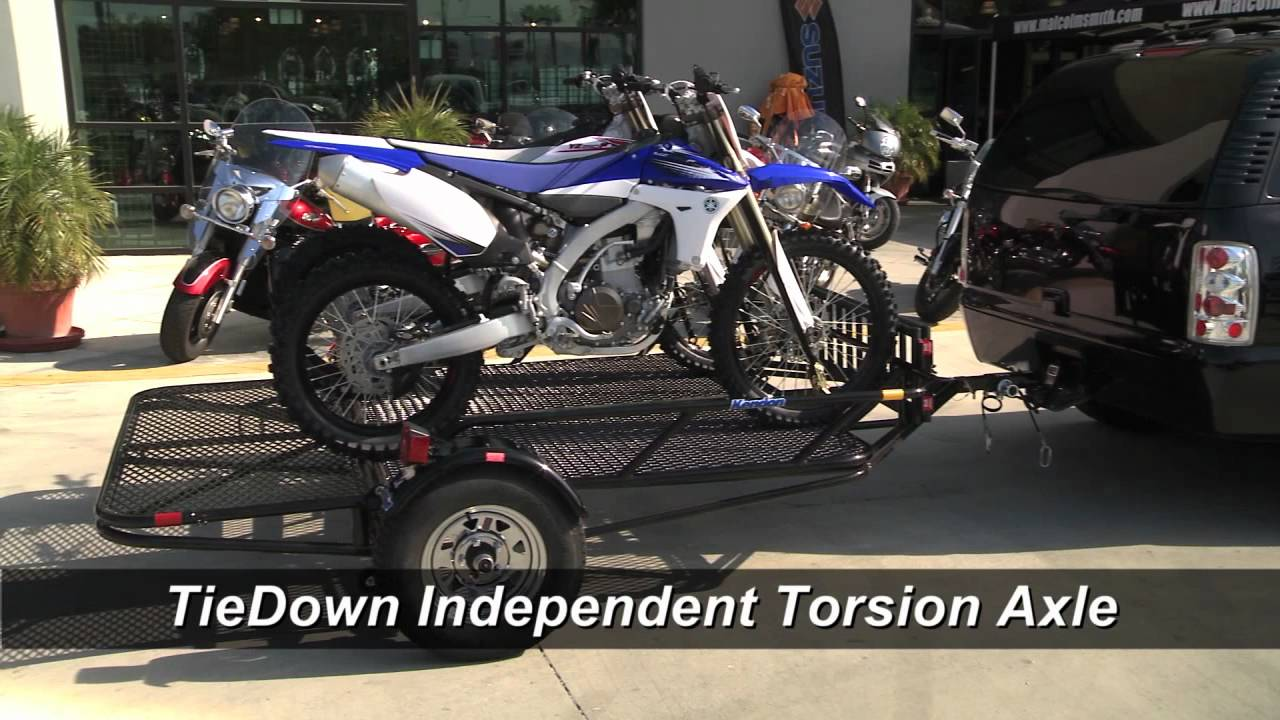 Kendon Stand Up Utility Trailer Off Road Atv Trailer Youtube