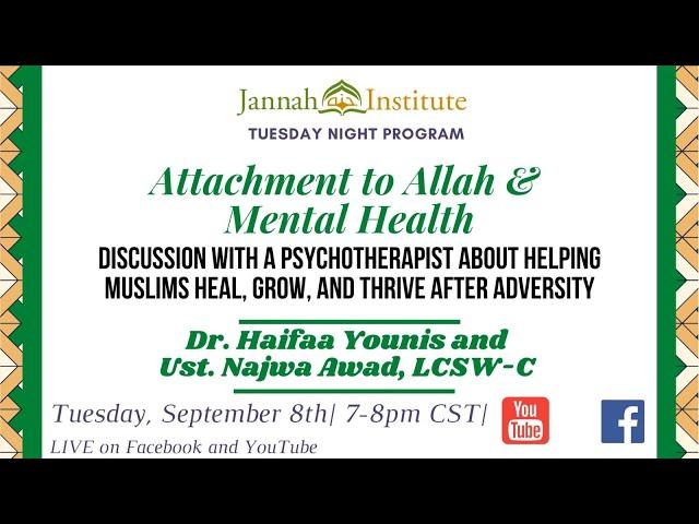Attachment to Allah & Mental Health.