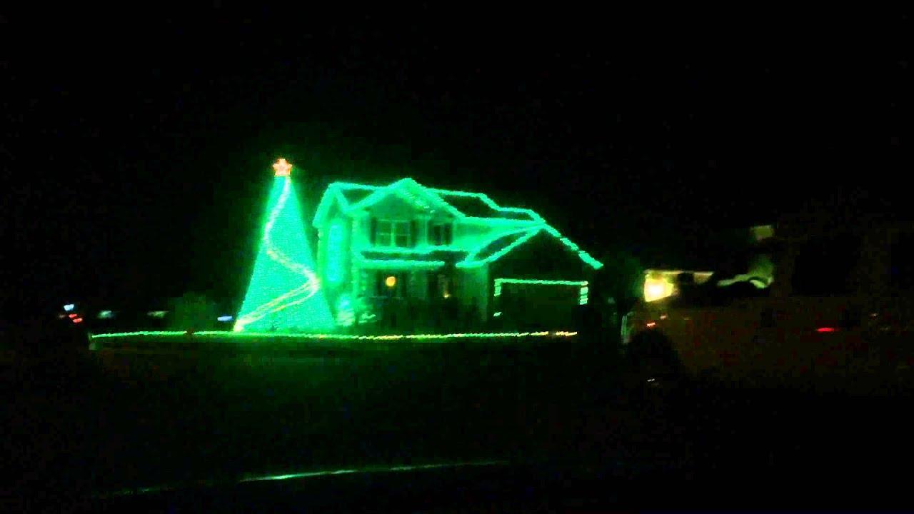 Michigan State Christmas Lights - YouTube