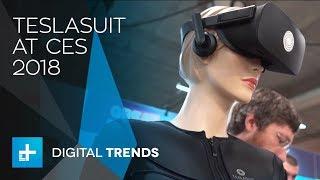 Teslasuit - Full Body Haptic VR Suit at CES 2018