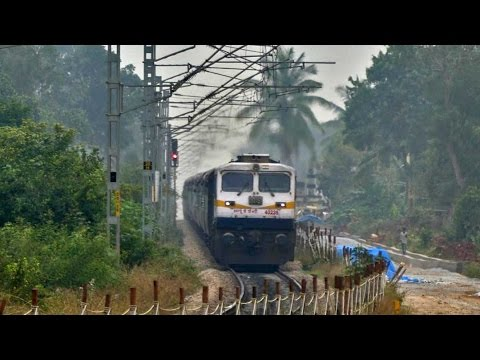 Dusk Breaks as Coimbatore Express Speeds - Indian Railways
