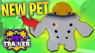 I GOT ALL THE NEW PETS IN ROBLOX PET TRAINER