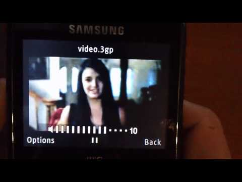 Youtube On The Samsung Ch@t 335