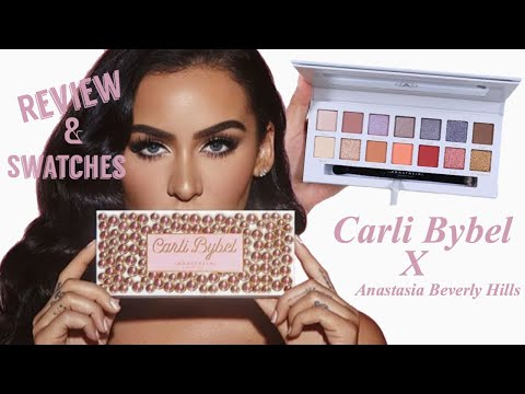 Carli Bybel x ABH Eyeshadow Palette Review + Swatches thumbnail